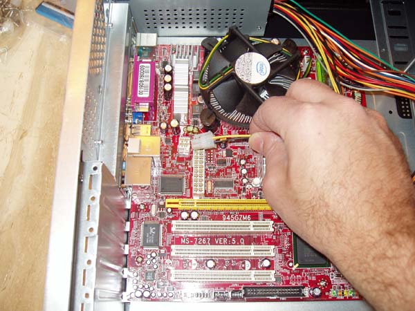 ATX Power Connection