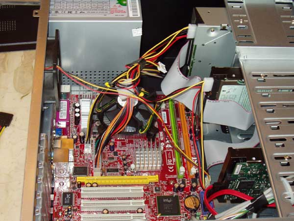hard drive installation