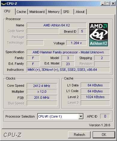 AMD Athlon 64 X2 4800+