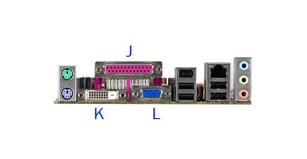 Motherboard Back Panel