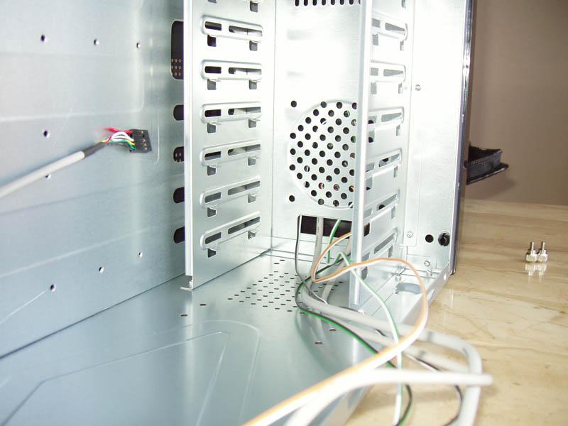 Computer Case Inside Front