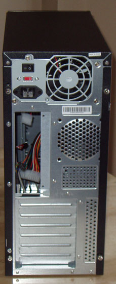 Computer Case Inside Back