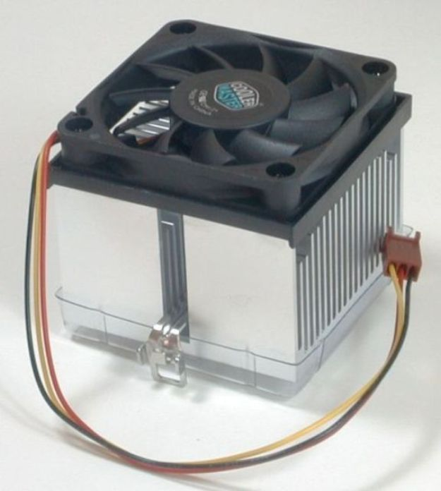 Computer Heat Sink : Computer cooling cpu temperature monitor