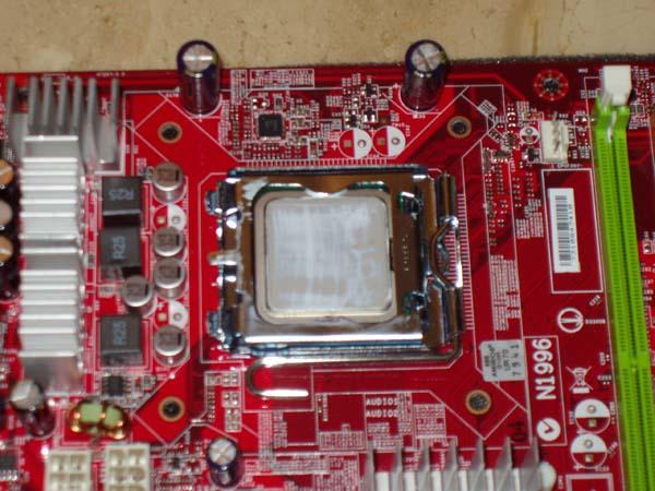 Install A CPU