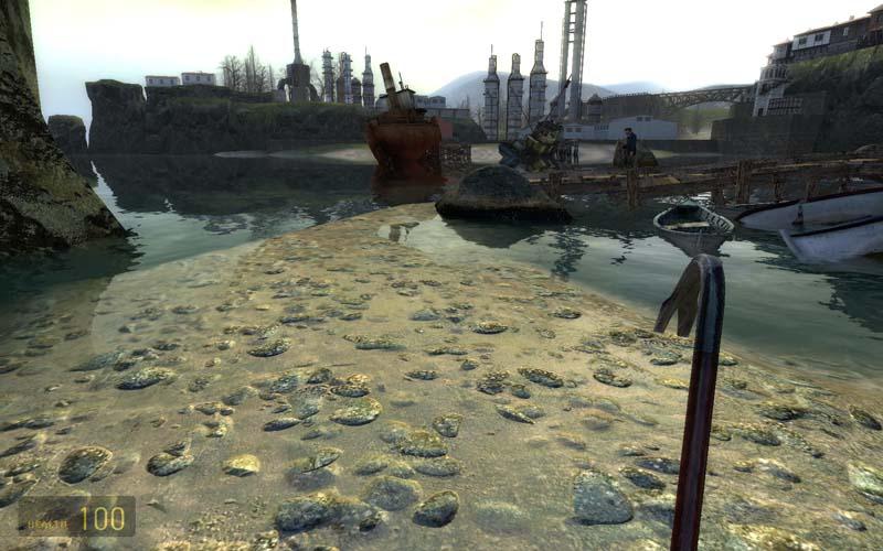Half Life 2 Lost Coast AF Off