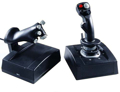 Computer Flight Simulation Joystick