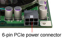 6 Pin Power Connection